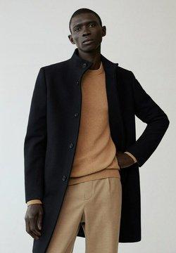 Mango - FUNNEL-I - Klasyczny płaszcz - schwarz