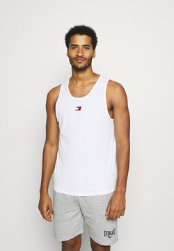 Tommy Hilfiger - TRAINING  - Toppi - white