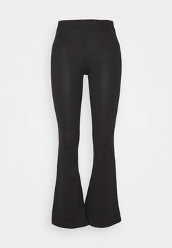ONLY Tall - ONLFEVER STRETCH FLAIRED PANTS - Stoffhose - black