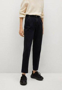 Mango - REGINA - Jeans relaxed fit - black denim