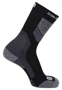 Salomon - Sportsocken - black/forged iron