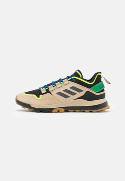 adidas Performance - TERREX HIKSTER - Outdoorschoenen - savannah/core black/signal green
