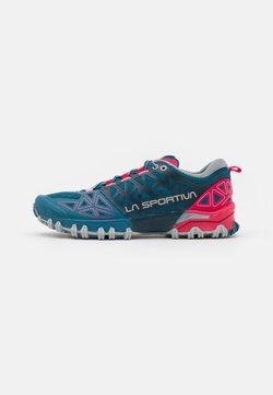 La Sportiva - BUSHIDO II WOMAN - Zapatillas de trail running - black/red plum