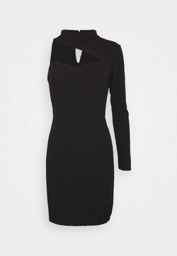 WAL G. - TURTLE NECK STYLE MINI DRESS - Cocktail dress / Party dress - black