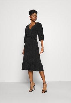 YAS - YASSCARLET DRESS - Cocktailkleid/festliches Kleid - black/silver