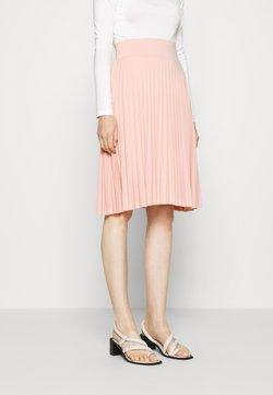Anna Field - Plisse A-line mini skirt - A-linjainen hame - dusty pink