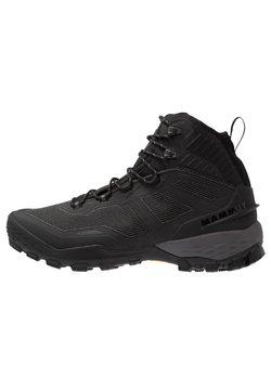 Mammut - DUCAN PRO HIGH GTX MEN - Snowboots  - black/titanium