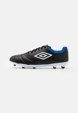 Umbro - TOCCO CLUB FG - Moulded stud football boots - black/white/victoria blue