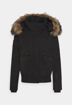 Superdry - EVEREST SNOW - Kurtka narciarska - black