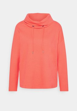 TOM TAILOR - STRUCTURE - Bluza - strong peach tone