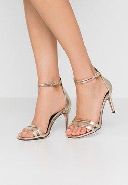 River Island - High heeled sandals - gold