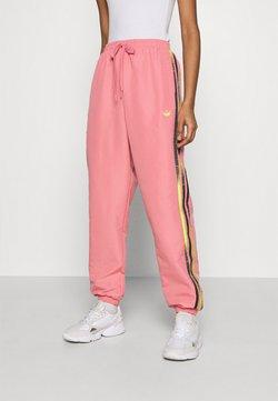 adidas Originals - PANTS - Jogginghose - hazy rose/acid yellow/black