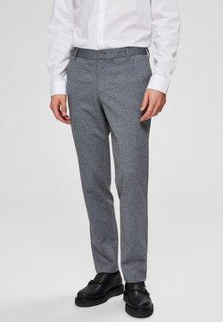 Selected Homme - FLEX FIT HOSE SLIM FIT - Chinot - grey melange