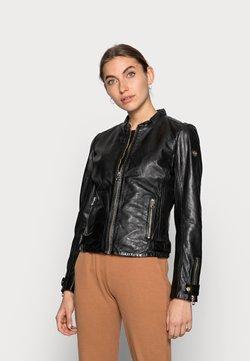 Gipsy - LUZI LACUV - Leather jacket - black