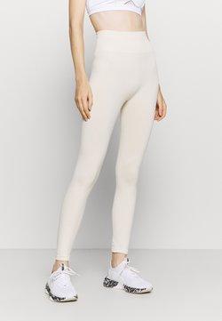 NU-IN - HIGH WAIST SEAMLESS LEGGINGS - Legging - beige