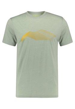 Meru - HERREN TUMBA - T-Shirt print - light green