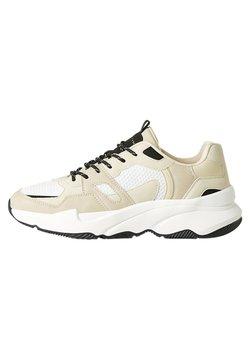 Bershka - Sneaker low - beige