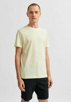 Selected Homme - T-shirt z nadrukiem - mellow yellow