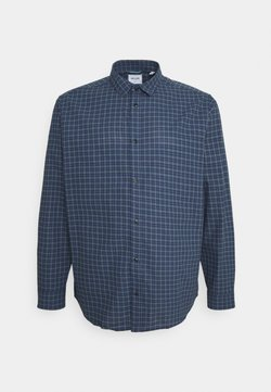 Only & Sons - ONSTONY CHECK PLUS SIZE - Camisa - dress blues