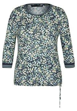 LeComte - MIT GLITZERSTEINEN UND TUNNELZUG - Bluse - blau