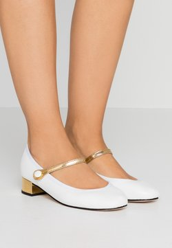 Repetto - ROSE - Pumps - blanc/or