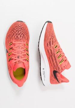 Nike Performance - AIR ZOOM PEGASUS 36 UNISEX - Hardloopschoenen neutraal - laser crimson/black/bright cactus/white