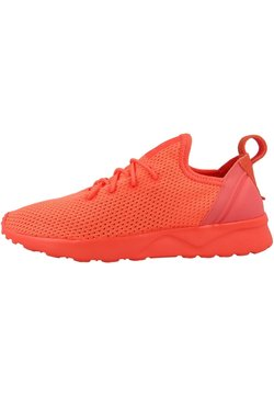 adidas Originals - ZX FLUX VIRTUE SOCK - Sneaker low - easy coral