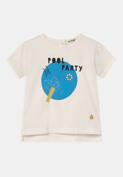 The Bonnie Mob - PERCY UNISEX - T-shirt print - white/blue