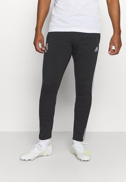adidas Performance - REAL MADRID SPORTS FOOTBALL PANTS - Spodnie treningowe - black/white