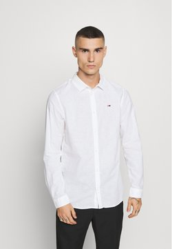 Tommy Jeans - LONGSLEEVE BLEND  - Camisa - white