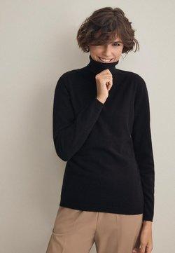 Falconeri - MIT LANGARM - Strickpullover - black