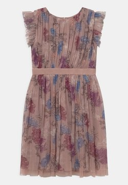Anaya with love - PRINTED DRESS WITH BOW BACK - Cocktailkleid/festliches Kleid - mauve romantic