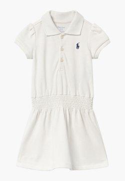 Polo Ralph Lauren - SMOCK - Freizeitkleid - deckwash white