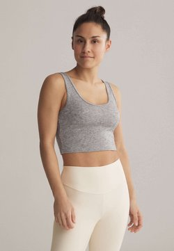 OYSHO - Sport BH - light grey