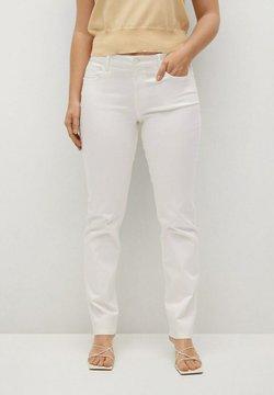 Violeta by Mango - JULIE  - Slim fit jeans - white