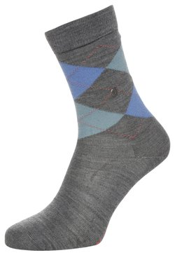 Burlington - MARYLEBONE - Socken - mid grey