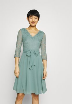 Esprit Collection - PER DRESS - Cocktailkleid/festliches Kleid - dark turquoise