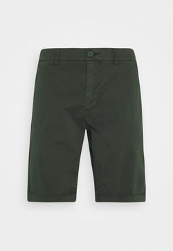 KnowledgeCotton Apparel - CHUCK REGULAR - Shorts - forrest night