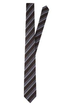 Strellson - Krawatte - dunkelbraun gestreift