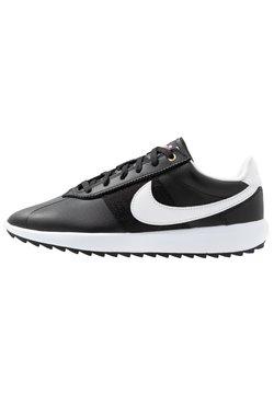 Nike Golf - CORTEZ - Golfschuh - black/white/metallic gold