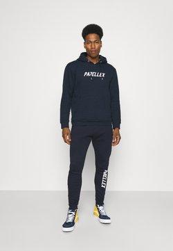 PARELLEX - LOUNGE HOOD LOUNGE TRACKSUIT SET - Sweatshirt - navy