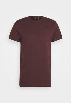 G-Star - BASE-S R T S\S - Basic T-shirt - dark fig