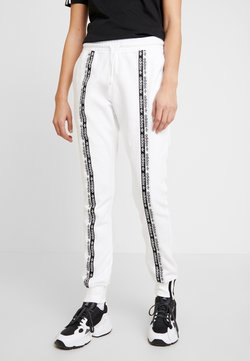 adidas Originals - R.Y.V. CUFFED SPORT PANTS - Jogginghose - white