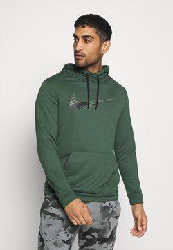 Nike Performance - DRY HOODIE - Huppari - galactic jade