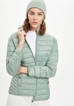 DeFacto - Winterjacke - turquoise