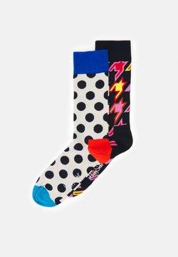 Happy Socks - STRIPE DOT DOG TOOTH SOCK 2 PACK UNISEX - Socken - multi