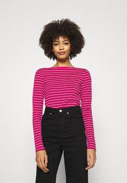 GAP - BATEAU - Langarmshirt - pink stripe