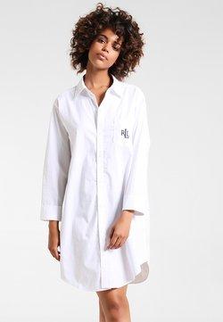 Lauren Ralph Lauren - HERITAGE ESSENTIALS CLASSIC HIS SLEEPSHIRT  - Nachthemd - white