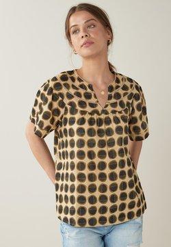 Next - T-Shirt print - brown