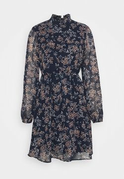 Vero Moda - VMVILDE SHORT DRESS - Freizeitkleid - navy blazer